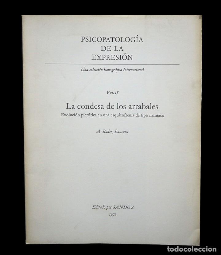 Libros de segunda mano: Psicopatología de la expresión. Volumen 18. La Condesa de los arrabales. Sandoz 1972 - Foto 2 - 226259230