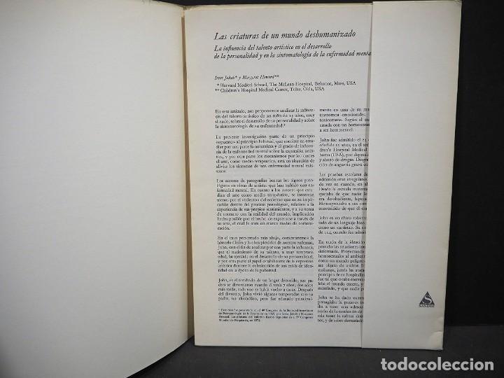 Libros de segunda mano: Psicopatología de la expresión. Volumen 19. Las Criaturas de un mundo deshumanizado. Sandoz 1974 - Foto 3 - 226259977