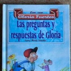 Libros de segunda mano: LEE CON GLORIA FUERTES - LAS PREGUNTAS Y RESPUESTAS DE GLORIA. Lote 226389500