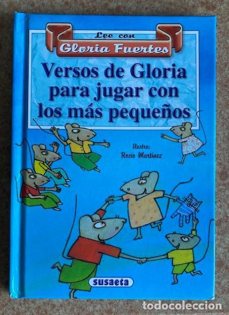 LEE CON GLORIA FUERTES - VERSOS DE GLORIA PARA JUGAR CON LOS MÁS PEQUEÑOS (Libros de Segunda Mano - Literatura Infantil y Juvenil - Otros)