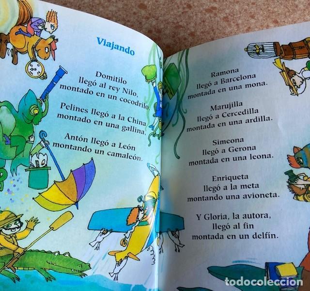 Libros de segunda mano: LEE CON GLORIA FUERTES - Versos de Gloria para jugar con los más pequeños - Foto 2 - 226389625