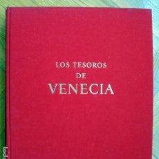 Libros de segunda mano: LOS TESOROS DE VENECIA .SKIRA EDICIONES.1963.. Lote 226442675