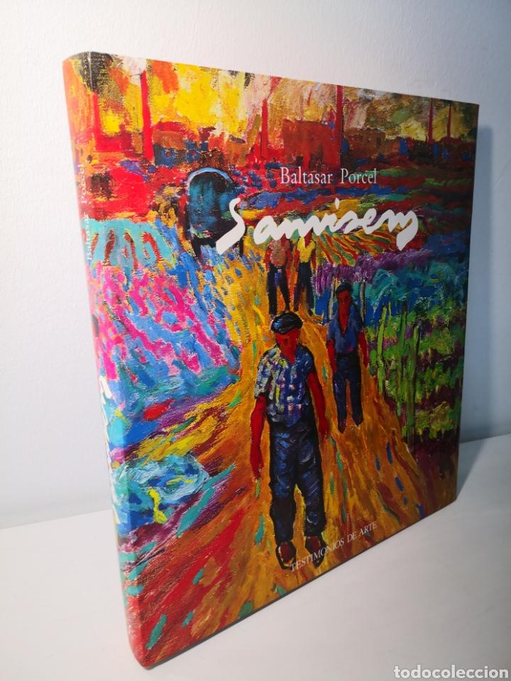 Libros de segunda mano: BALTASAR PORCEL, SANVISENS, TESTIMONIOS DE ARTE, AMBIT, PRIMERA EDICIÓN, 1985 - Foto 2 - 226443655