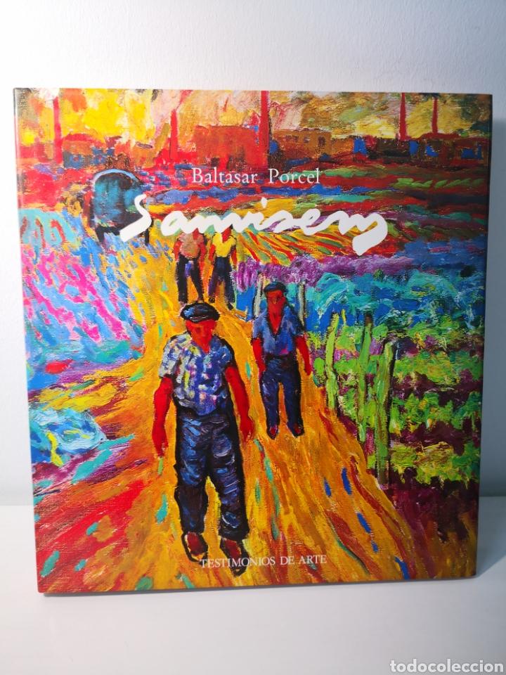 BALTASAR PORCEL, SANVISENS, TESTIMONIOS DE ARTE, AMBIT, PRIMERA EDICIÓN, 1985 (Libros de Segunda Mano - Bellas artes, ocio y coleccionismo - Otros)