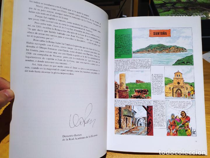 Libros de segunda mano: Juan de la cosa y el descubrimiento de América. Rogelio Bustamante, ed. Nova, 1990 - Foto 3 - 226474980