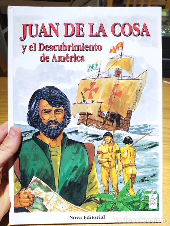 JUAN DE LA COSA Y EL DESCUBRIMIENTO DE AMÉRICA. ROGELIO BUSTAMANTE, ED. NOVA, 1990 (Libros de Segunda Mano - Literatura Infantil y Juvenil - Otros)