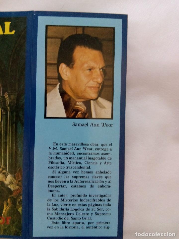Libros de segunda mano: EL PARSIFAL DESVELADO / SAMAEL AUN WEOR - Foto 4 - 226496305