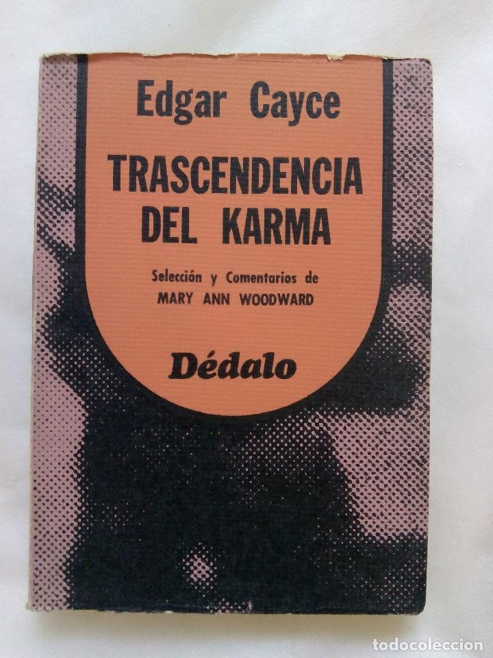 TRASCENDENCIA DEL KARMA / EDGAR CAYCE (Libros de Segunda Mano - Parapsicología y Esoterismo - Otros)