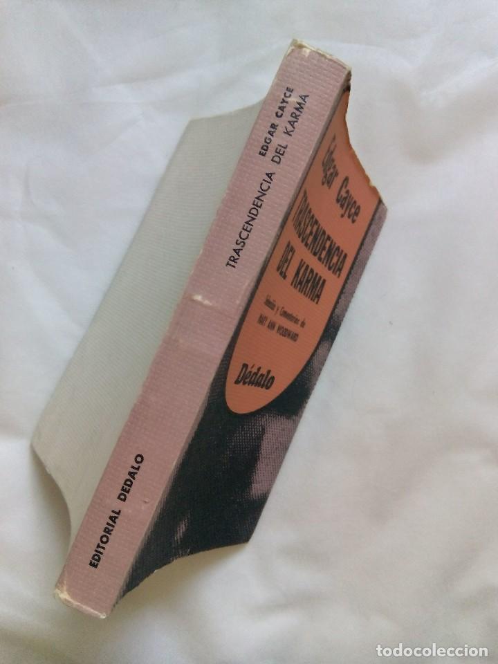 Libros de segunda mano: TRASCENDENCIA DEL KARMA / EDGAR CAYCE - Foto 3 - 226499255
