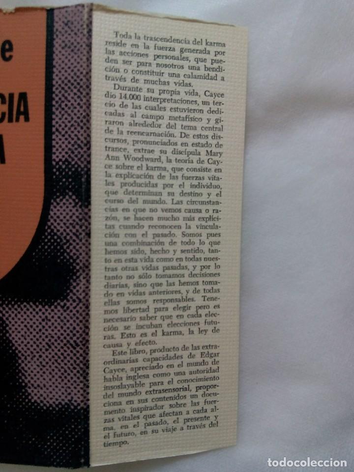 Libros de segunda mano: TRASCENDENCIA DEL KARMA / EDGAR CAYCE - Foto 4 - 226499255
