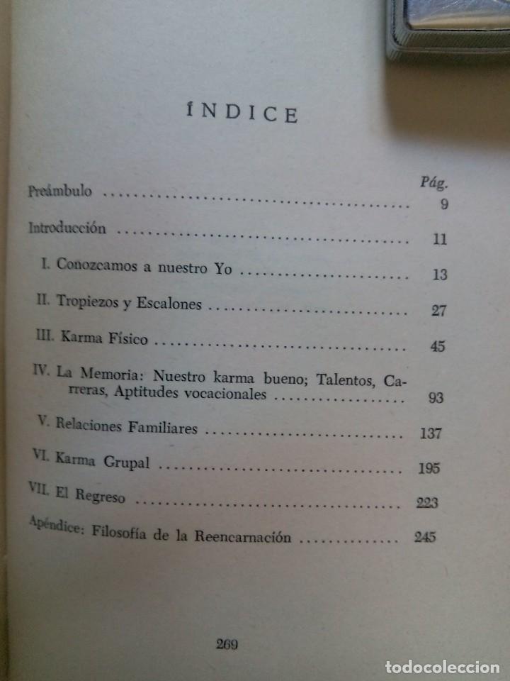 Libros de segunda mano: TRASCENDENCIA DEL KARMA / EDGAR CAYCE - Foto 5 - 226499255