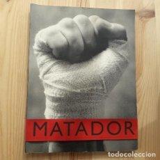 Libri di seconda mano: MATADOR, REVISTA DE CULTURA, IDEAS Y TENDENCIAS,VOLUMEN A, 1995. Lote 226567535