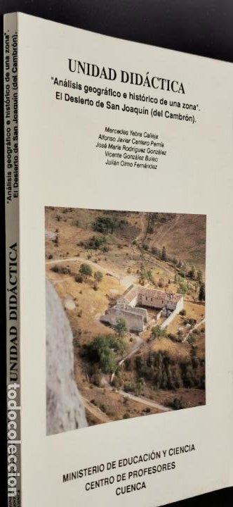 """ANÁLISIS GEOGRÁFICO E HISTÓRICO DE UNA ZONA"""": EL DESIERTO DE SAN JOAQUÍN (DEL CAMBRÓN) (Libros de Segunda Mano - Ciencias, Manuales y Oficios - Otros)"""