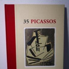 Libros de segunda mano: 35 PICASSOS, MANEL MAYORAL, BARCELONA, 2008. Lote 226630015