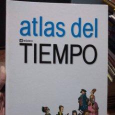 Libros de segunda mano: ATLAS DEL TIEMPO EDICIONES LA GALERA DESPLEGABLE DE DOS LECTURAS. Lote 226644325