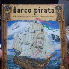 Libros de segunda mano: BARCO PIRATA ESPECTACULAR LIBRO TRIDIMENSIONAL BRUÑO CON PIEZAS. Lote 226646950