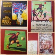 Libros de segunda mano: EXPOSICIÓ ANTOLÓGICA JOSEP SEGRELLES, EL PINTOR D'ARGENT DEL BARÇA, 1999, FC BARCELONA. Lote 226782575