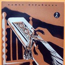 Libros de segunda mano: BORDADOS Y ENCAJES - NIEVES DE HOYOS SANCHO - TEMAS ESPAÑOLES Nº 30 - 1953 - NUEVO - VER INDICE. Lote 226931282