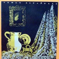 Libros de segunda mano: ARTESANÍA - TEMAS ESPAÑOLES Nº 3 - 1952 - NUEVO - VER INDICE. Lote 226931410