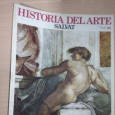 Libros de segunda mano: HISTORIA DEL ARTE ( 9 MARZO 1983, NÚMERO 80) (SALVAT). Lote 227035175