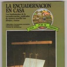 Livros em segunda mão: LA ENCUADERNACIÓN EN CASA, K. RIBERHOLT Y A. DRASTRUP. Lote 227066412