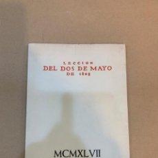 Libros de segunda mano: LECCION DEL DOS DE MAYO DE 1808. Lote 227116870
