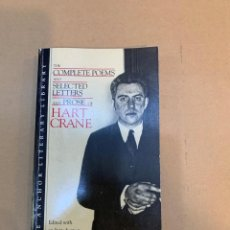 Libros de segunda mano: HART CRANE / COMPLETE POEMS AND SELECTED LETTERS AND PROSE / POESÍAS COMPLETAS. Lote 227118625