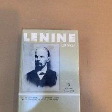 Libros de segunda mano: LENIN / OUVRES / MAYO 1901 / FEBRERO 1902 / MOSCU / EDITIONS DU PROGRES. Lote 227121935