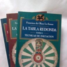Libri di seconda mano: LA TABLA REDONDA. TOMOS I,II Y III / F. DE OLEZA LE-SENNE. Lote 227136965