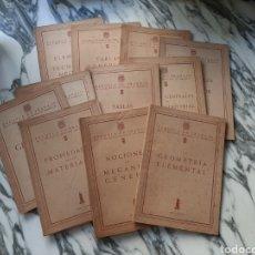 Libros de segunda mano: ESCUELA DE TRABAJO DE LA DIPUTACIÓN PROVINCIAL DE BARCELONA - 11 CUADERNOS - 1951 A 1957. Lote 227141600
