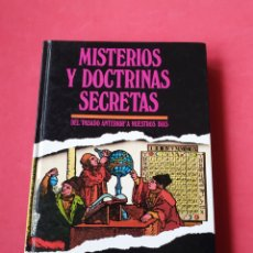 Libri di seconda mano: MISTERIOS Y DOCTRINAS SECRETAS. DEL PASADO ANTERIOR A NUESTROS DÍAS. BRUNO NARDINI. 1986. Lote 227471450