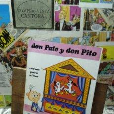 Libros de segunda mano: DON PATO Y DON PITO. GLORIA FUERTES.. Lote 227474590