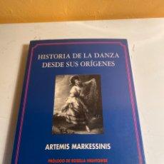 Libros de segunda mano: HISTORIA DE LA DANZA DESDE SUS ORÍGENES. Lote 227611935