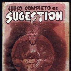 Libros de segunda mano: CURSO COMPLETO DE SUGESTION PROFESOR D´ARTIS. Lote 227620210