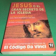 Libros de segunda mano: JESÚS O EL GRAN SECRETO DE LA IGLESIA - RAMÓN HERVÁS (COMO NUEVO). Lote 227661249