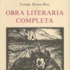 Libros de segunda mano: OBRA LITERARIA COMPLETA.-BOUZA BREY, FERMIN. Lote 277853673