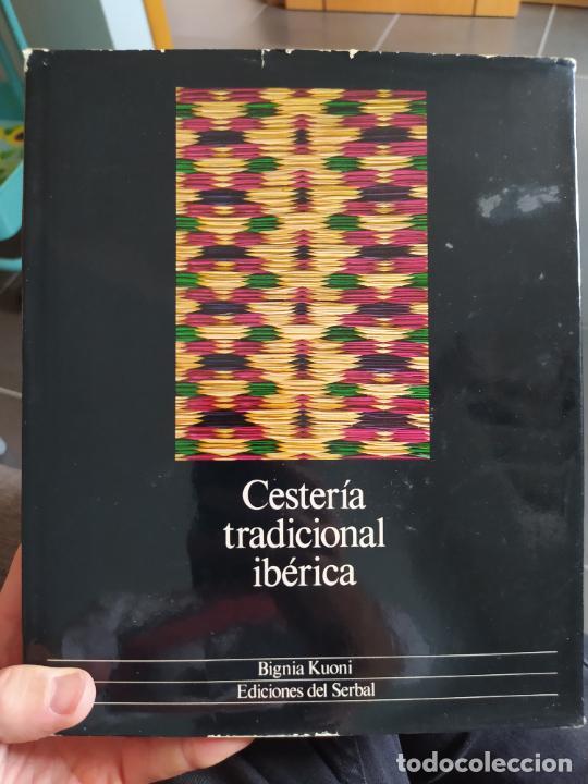 CESTERIA TRADICIONAL IBERICA, BIGNIA KUONI, ED. DEL SERBAL. 1981. BUEN ESTADO. (Libros de Segunda Mano - Ciencias, Manuales y Oficios - Otros)