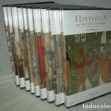 Libros de segunda mano: DVD HISTORIA DEL ARTE UNIVERSAL. ARS MAGNA. 10 DVD NUEVOS Y SIN ABRIR. Lote 227897700