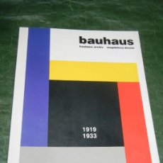 Libros de segunda mano: BAUHAUS 1919 - 1933 BAUHAUS ARCHIV - MAGDALENA DROSTE - TASCHEN - 1991. Lote 261580070