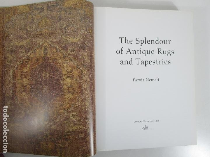 Libros de segunda mano: The Spendour of Antique Rugs and Tapestries - El Esplendor de las Alfombras y Tapices Antiguos - Foto 4 - 228016675