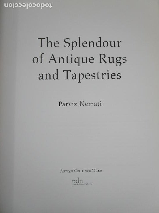 Libros de segunda mano: The Spendour of Antique Rugs and Tapestries - El Esplendor de las Alfombras y Tapices Antiguos - Foto 5 - 228016675