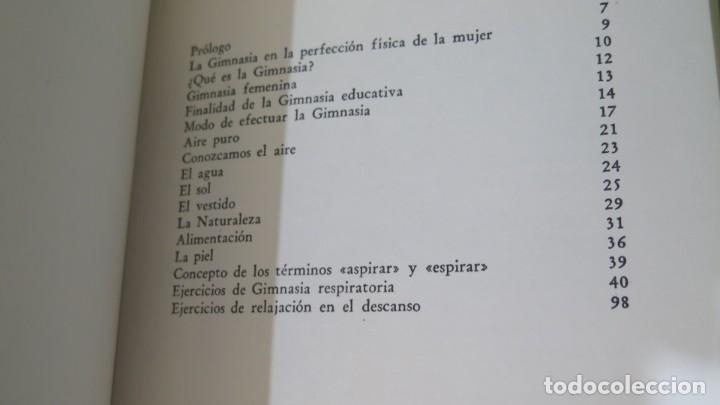 Libros de segunda mano: GIMNASIA FEMENINA. CLOT - Foto 4 - 228040680
