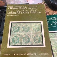 Libros de segunda mano: LIBRO FILATELIA LLACH,S.L.FUNDADA EN 1915. Lote 228041766