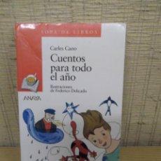 """Libros de segunda mano: LIBRO """"CUENTOS PARA TODO EL AÑO"""" DE CARLES CANO. Lote 228110575"""