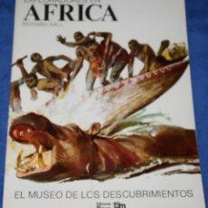 Libros de segunda mano: EXPLORADORES EN ÁFRICA - RICHARD HALL - PLESA - EDICIONES SM (1976). Lote 228193185