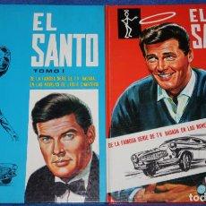 Libros de segunda mano: EL SANTO - TOMOS I Y II - LESLIE CHARTERIS - EDICIONES GAISA (1969) ¡IMPECABLES!. Lote 228195810