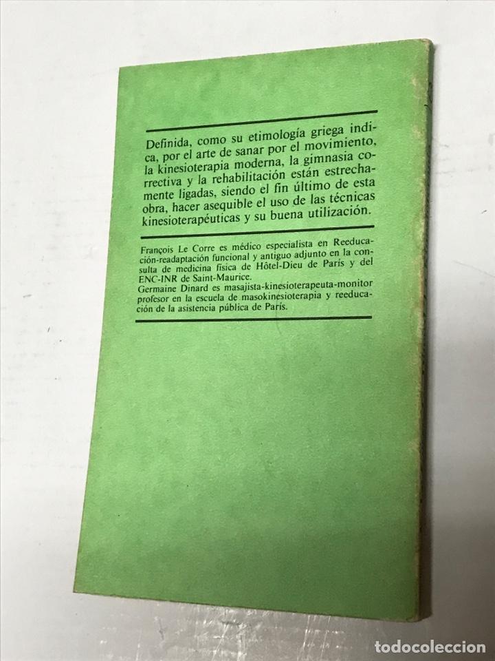 Libros de segunda mano: Francois Le Corre La kinesioterapia - Foto 2 - 228276415