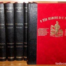 Libros de segunda mano: O TIO MARCOS D'A PORTELA. COMPLETA. 3 EPOCAS. 7 TOMOS. EDITORIAL EDMAN 1989. GALICIA.. Lote 228369530
