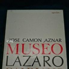 Libros de segunda mano: LIBRO FILM DIAPOSITIVAS MUSEO LAZARO GALDIANO, 1964. Lote 228521465