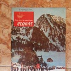 Libros de segunda mano: REVISTA CEDADE (1976) Nº70. Lote 254899735